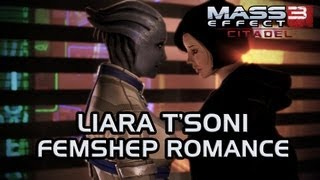 Mass Effect 3 Citadel DLC: Liara & FemShep Romance (All scenes)