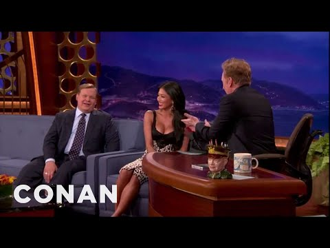 Xxx Mp4 Nicole Scherzinger Busts Conan For Staring At Her Boobs 3gp Sex