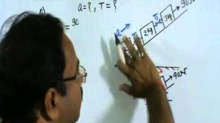 Force (Motion of connected bodies)-Numerical problem-4, Class-XI Physics