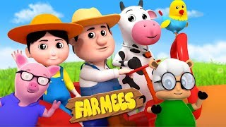 Farmer In The Dell | Nursery Rhymes For Children by Farmees