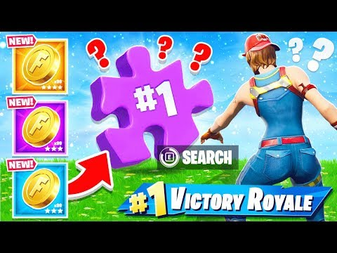 CAN YOU FIND the PUZZLE PIECES NEW Game Mode in Fortnite Battle Royale