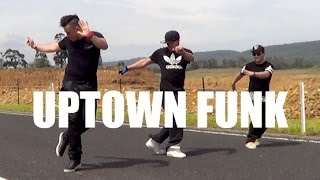 UPTOWN FUNK - Mark Ronson & Bruno Mars Dance Choreography | Jayden Rodrigues NeWest