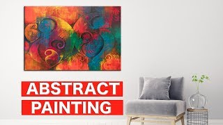 Abstract Painting | Acrylic Art Series: Video 1