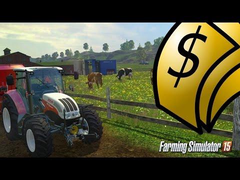 watch Jak szybko zarobić pieniądze w Farming Simulator 2015 ?