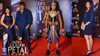 Team Shani At 5th Colors Golden Petal Awards 2017   Interview of Salil Ankola & Juhi Parmar