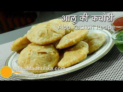Aloo Kachori recipe - khasta kachori potato stuffed recipe