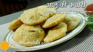 Aloo Kachori recipe - khasta kachori potato stuffed recipe