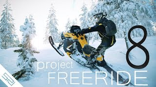 Snowmobile Movie 2017 - project FREERIDE 8