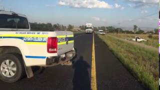 Shooting and attempted hijacking along Bergville road