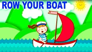 Row Row Row Your Boat | Nursery Rhymes Collection and Baby Songs