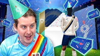 WE PACKED AN ICON! INSANE FUT BIRTHDAY PACK OPENING! FIFA 18 ULTIMATE TEAM