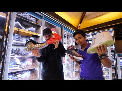 DUBAI 15 YEAR OLD 1 000 000 SNEAKER COLLECTION