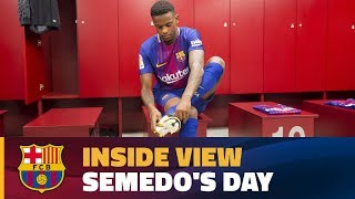 [INSIDE VIEW] 24 hours with Nélson Semedo