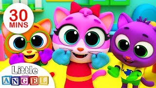 Three Little Kittens Lost Their Mittens | Itsy Bitsy Spider | Fun Songs for Kids by Little Angel