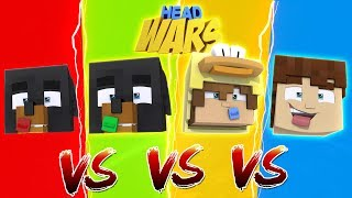 Minecraft HEAD WARS!!!! - WHO WILL BE CROWNED THE KING OF HEAD WARS FROM THE LITTLECLUB????