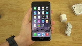 iPhone 6 Plus Unboxing and First Look!