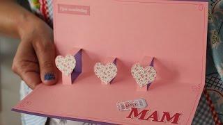 Makkelijke Valentijnsdag kaart 3D