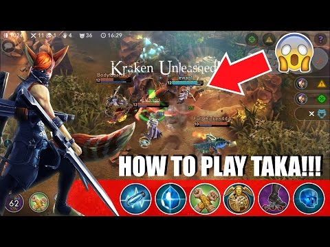 VainGlory - HOW TO PLAY TAKA (19-3) | Ranked Live Gameplay Commentary| Update 1.20