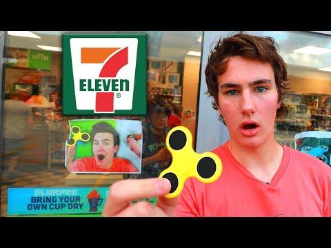 7 Eleven STOLE TechSmartt's Fidget Spinner Video