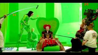 'Alice in Wonderland' Behind the Scenes 2