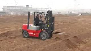 DISPLAY OF YTO OFF-ROAD FORKLIFT'S THROUGHPUT CAPACITY  (PART TWO)