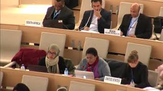 Frederika Korain have delivered her statement on West Papua to UN Forum Minorities