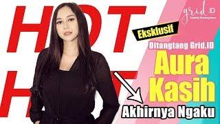 HOT!!! Video Eksklusif Aura Kasih Akhirnya Ngaku ditantang Grid.ID, Cast Film OM PSP