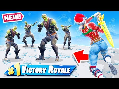 INFECTED SWORD ESCAPE NEW Game Mode in Fortnite Battle Royale