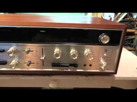 Demo Sansui QRX-6500 4 channel receiver