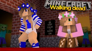 Minecraft THE WALKING DEAD - SAVING LITTLE CARLY & LITTLE KELLY!!