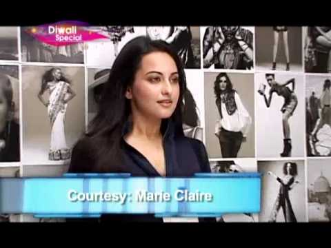 Planet Bollywood - Sonakshi's sexy photo-shoot,Shilpa's fitness tip for Diwali and more news
