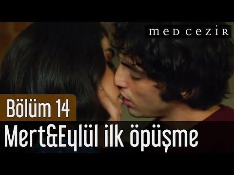 Medcezir 14.Bölüm Mert&Eylül ilk öpüşme