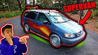 Transforming Mini Van into SUPERCAR!