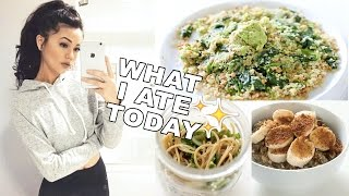 What I Eat On A School Day • Healthy, Vegan & Easy Meal Ideas