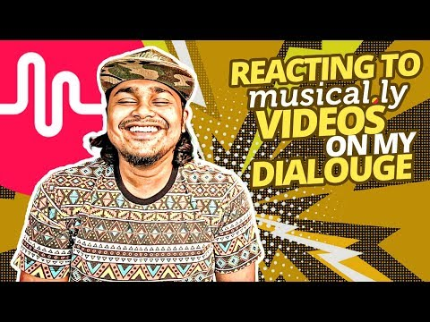 Xxx Mp4 Reacting To Musical Ly Videos On My Dialogue ZakiLOVE 2018 3gp Sex