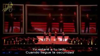 IL DIVO - Bridge over troubled water (Subs Español)