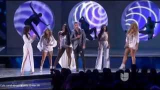 Fifth Harmony y Maluma Latin Grammy Awards