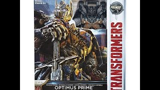 Transformers: The Last Knight - Shadow Spark Optimus??? & New Image!