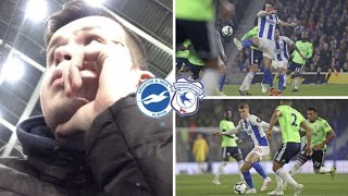 Brighton 0 - 2 Cardiff - CHAMPIONSHIP FOOTBALL NEXT SEASON... SHI* SHOW