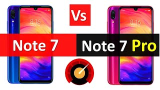 Redmi Note 7 Vs Redmi Note 7 Pro Full Details Specification base Overall Comparison Not a Review