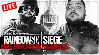 BIG BROTHERS SIEGE - RANKED IN LIVE [Rainbow Six Siege] White Noise !!! 🔴