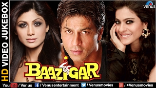 Baazigar - HD Songs | Shahrukh Khan | Kajol | Shilpa Shetty | VIDEO JUKEBOX - Bollywood Hits