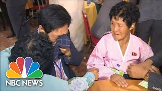 Families Torn Apart By Korean War Are Reunited After Decades | NBC News