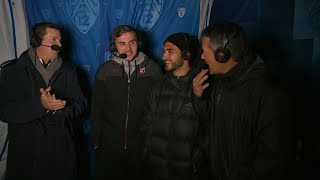#Pac12Soccer alums and Seattle Sounders MLS Cup champs attend Stanford vs Washington match