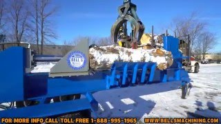 Bell's SUPER SPLITTER with tandem axles