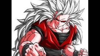 Goku SSJ1 - SSJ10