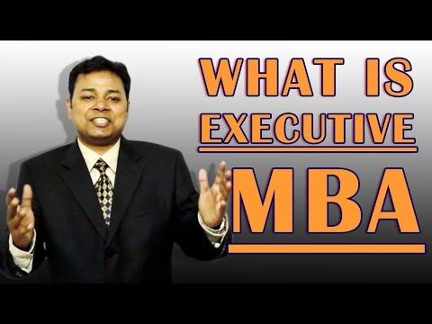 What is Executive MBA