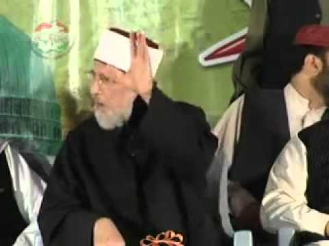 Dr Tahir ul Qadri on Irfan Shah & Abid Jalali the Kharjis of our time Munazra