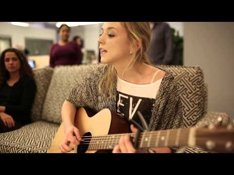 "Emily Kinney - ""Expired Lover"" - Live at Live Nation NYC Office"