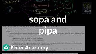 SOPA and PIPA | American civics | US History | Khan Academy